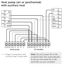 heat pump wiring explained explore wiring diagram on the net • ecobee3 wiring diagrams ecobee support rh support ecobee com ground source heat pump trane heat pump