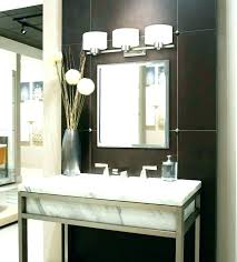 Bathroom Vanity Light Height Impressive Bathroom Vanity Mirror And Lighting Ideas Architecture Home Design