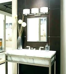 Bathroom Vanity Light Height Impressive Bathroom Vanity Mirror And Lighting Ideas Architecture Home Design