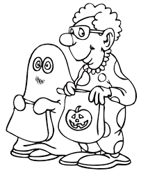 Small Picture Free Halloween Coloring Pages for Kids