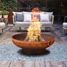 Gobi 70cm Rust Fire Pit Milkcan Outdoor Products