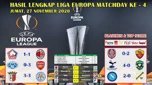 Sabtu, 22 agustus 2020 05:13 Hasil Liga Europa Tadi Malam Tottenham Vs Ludogorets Uefa Europa League 2020 2021 Youtube