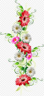 Flower Paper Clips Flower Paper Clip Art Png 1304x2797px Flower Art