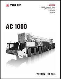 Demag Ac700 Load Chart Demag Ac205 Load Chart