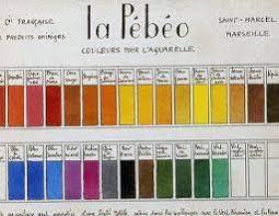 Pebeo Vitrea 160 Color Chart