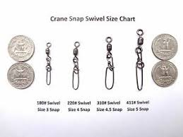 Swivel Size Chart Details About 5 Pack Stainless Snap Swivels Stay Lok Snap Afw Crane Swivel Select Size