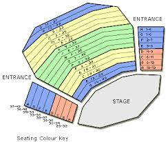 Mercury Theatre Colchester Seating Plan View The Seating