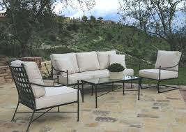 Sunset West Furniture Stylish Patio Deep Seating Collection Del
