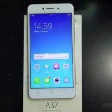 Layar berukuran 5 inci bertipe ips lcd capacitive touchscreen juga melengkapi smartphone beresolusi 1280 x 720 piksel dan memiliki fitur multitouch ini. Hp Oppo A37 Bekas Normal Like New Harga Murah Lengkap Orisinil Garansi Di Semarang Tribunjualbeli Com