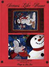 Friends #2015 Holiday Christmas Seams Like Home Snowman Quilt Pattern & Buy Frosty Friends #2015 Holiday Christmas Seams Like Home Snowman Quilt  Pattern Adamdwight.com