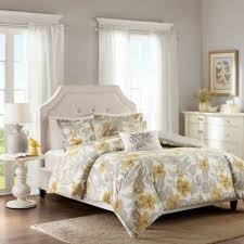Buy Yellow Duvet Cover from Bed Bath & Beyond & Harbor Houseâ?¢ Gabrielle King Duvet Cover Set in Yellow/Grey Adamdwight.com