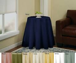 inch round tablecloth 52 x 90 fits what size table
