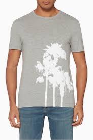 Shop Banana Republic Grey Vintage Graphic T Shirt For Men
