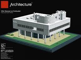 Resultado de imagen para La Ville Savoye en Lego.