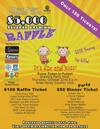 Raffle Ticket Poster Template Fundraiser Flyer Template Word Sample Raffle Microsoft Danafisher Co
