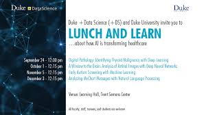 Ds Lunch And Learn Series Fall 2019 Duke Forge