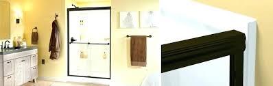 how to install shower door sweep install door sweep how to install shower door traditional style