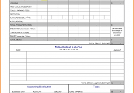 Business Expense Spreadsheet Template Epaperzone