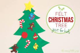 Printable Christmas Tree Felt Christmas Tree For Kids With Printable Templates