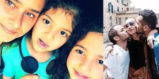 """شاهد صور الزوجة الأولى وأولاد """"عمر إسلام"""" حبيب الممثلة نيللي كريم!"""