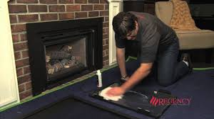 how to clean the glass on regency lri hri gas inserts with vignette faceplate regency fireplace s