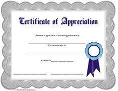 Printable Appreciation Certificates 17 Best Printable Certificates Images Free Printables Printable