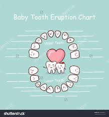 Blank Baby Growth Chart 38 Printable Baby Teeth Charts Timelines Template Lab