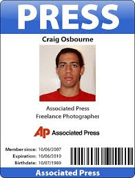Credential Loubou Press Template - Credentials Pass Creative