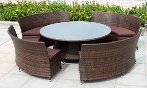 Round Garden Furniture Sets S051HIS cnxconsortium
