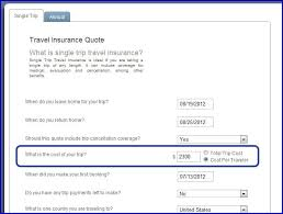 Travelers Insurance Quote