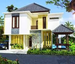 desain rumah minimalis 2 lantai modern foto desain rumah terbaru