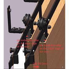 diy bypass barn door hardware. Collection In DIY Bypass Barn Door Hardware With A Beautiful Pair Of Pass Doors Rebarn Diy