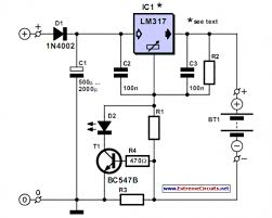simple nicd battery charger eeweb community simple nicd charger circuit diagram
