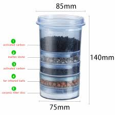 water filter. 5 Stage Water Filter Cartridge Ceramic Carbon Mineral Pot Can Fit Bench Top Dispenser Purifier U