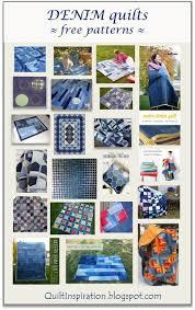 Quilt Inspiration: Free pattern day ! Denim quilts & Denim Shopper Tote, free pattern at JoAnn Adamdwight.com