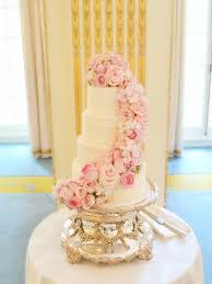 Cake Desserts Gorgeous Wedding Cake Flowers Cascading For Flower