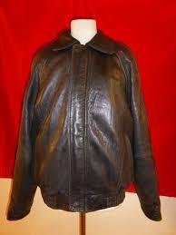 details about pelle studio wilsons black leather jacket coat er mens thinsulate m medium