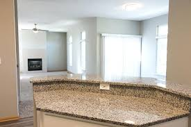 gorgeous countertops lincoln ne for interiors granite island countertop with open concept dining living room at