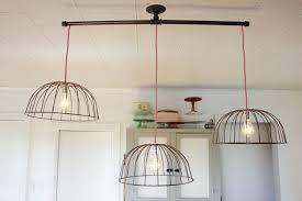 diy kitchen lighting. Brilliant Diy Kitchen Lighting Wire Basket Lights The Inside Awesome