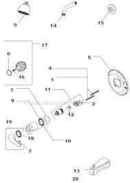 delta bathtub faucet parts modern 134900 list and diagram com inside 29