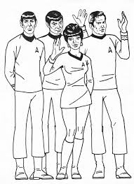 Small Picture Star Trek The Coloring Ideal Star Trek Coloring Book Coloring