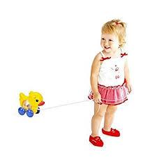 Amazon.com : Lovely Animals Toy Educational Toy Baby Kids Push Pull ...
