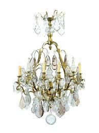 colorful crystal chandeliers xv style gilt bronze cut crystal chandelier with eight lights ca word fine