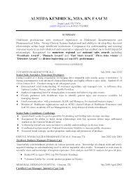 Awesome Nursing Skills Resume Registered Nurse Examples With