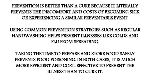 proverbs prevention is better than cure 3
