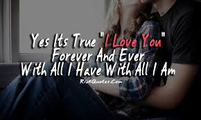 Quotes About Forever Love