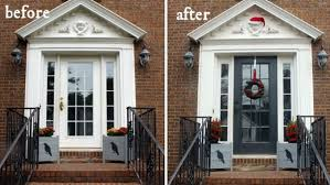 front door curb appeal5 Home Remodels That Add Value  thegoodstuff
