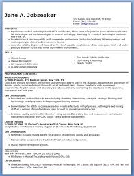 ... Crafty Ideas Medical Technologist Resume 1 Medical Technologist Resume  Example