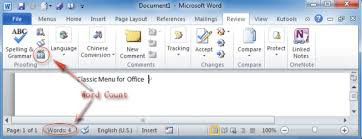 easy to use tools to count words count words microsoft word