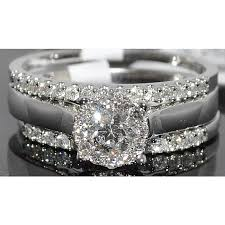 diamond solitaire wedding sets. 0.80ctw diamond wedding set 3pc solitaire engagement ring 14k white gold · zoom diamond solitaire wedding sets n
